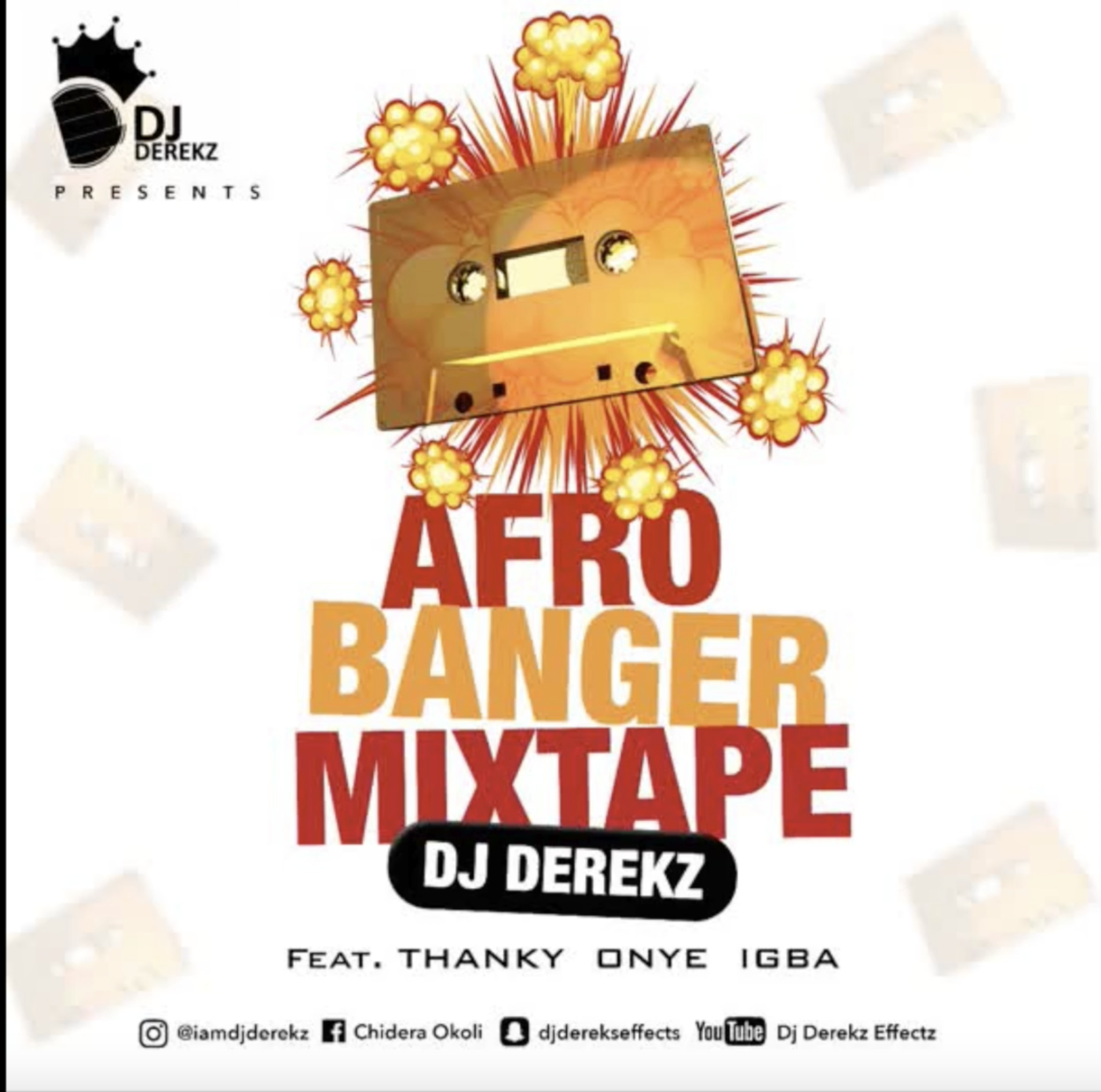 DJ Derek Afro Banger out now